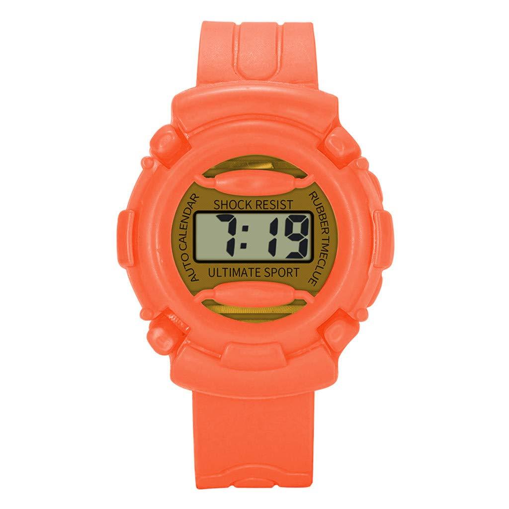 Barhalk Kids Analog Digital Wristwatch 30M Waterproof Watch Unisex Sport Watches Round Dial Gift for Children' Day Birthday Party
