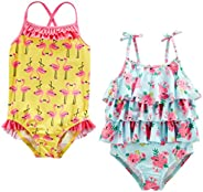 Simple Joys by Carter's Baby and Toddler Girls' 2-Pack One-Piece S