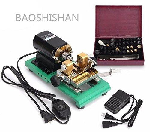 BAOSHISHAN 110V/220V フルセット パール穴開機 真珠ドリル 球体穴開機 ジュエリー パンチメーカードリル (110V) B07BNK8383110V