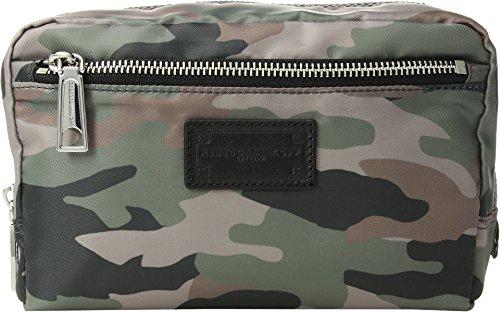 - Rebecca Minkoff Women's Nylon Cosmetic Pouch Camo Print One Size