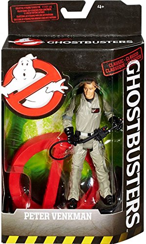Mattel Ghostbusters Peter Venkman Action Figure 6 Inches