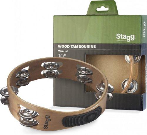 Stagg TAW-102 10-Inch Headless Tambourine
