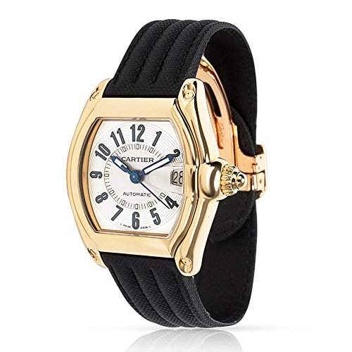 Cartier Roadster 2524 Men's Watch in 18kt Yellow Gold (Certified Pre-Owned)