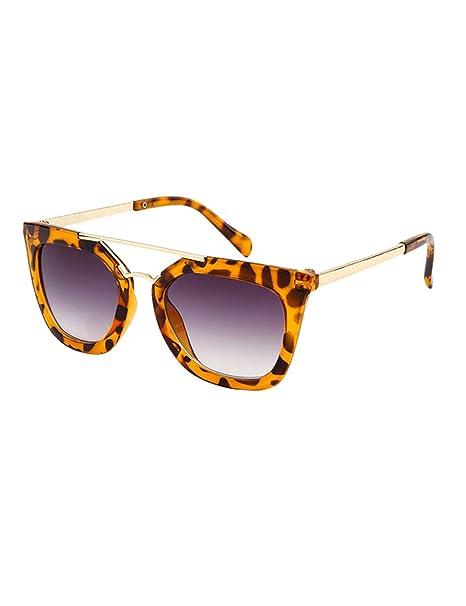 besbomig Gafas de Sol para Niños y Niñas Flexible Marco - Protección UV400 Gafas de Viaje Clásicas Sunglasses Disfraz Ideal Regalo Edad 6-12