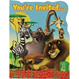 : Madagascar Escape 2 Africa Party Invitations