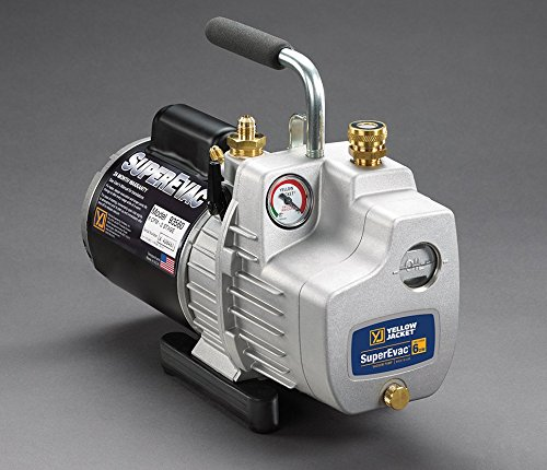 Yellow Jacket 93580 Superevac Vacuum Pump, 8 Cfm Yellow Jacket Pump