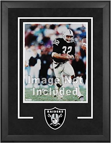 Oakland Raiders Deluxe 16x20 Vertical Photograph Frame by Mounted Memories