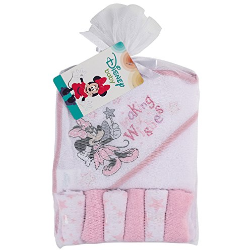 Disney Minnie Mouse Hooded Towel, Making Wishes Print App...