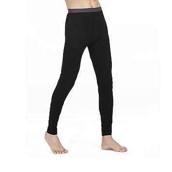 NYKKOLA pour Homme Pantalon Thermique Caleçon Long Chaud sous-vêtements  Thermiques pour Homme 2d7a56b16ba