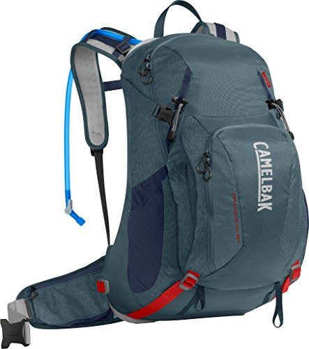 CamelBak Franconia LR Crux Lumbar Reservoir Hydration Pack, Dark Slate/Fiery Red, 3 L/100 oz