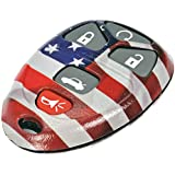 Dorman 13636US American Flag Keyless Remote Case