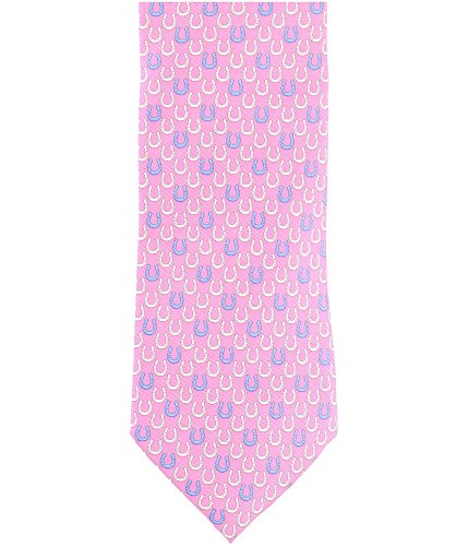 Tommy Hilfiger Mens Horseshoe Necktie Pink Classic from Tommy Hilfiger