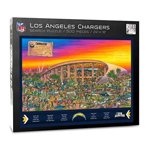 San Diego Chargers Box Office: Los Angeles Chargers Puzzle, Chargers Puzzle, Chargers