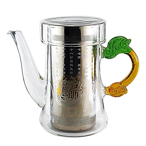 Chariot Trading - 280ml elegant cup stainless steel tea filter simple