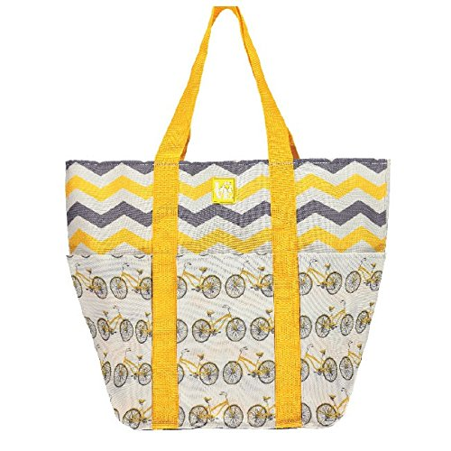 Love Reusable Bags Trio Tote in Pedal Power