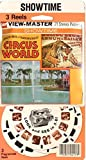 Ringling Bros. Circus World 3d View-Master 3 Reel Packet