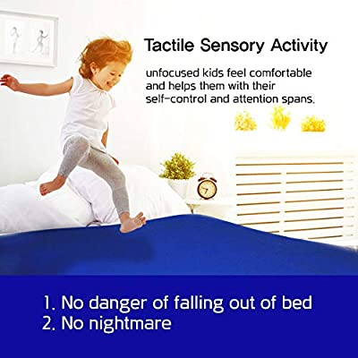 CnC- Sensory bed sheet for Kids comfortable sleeping bedding (Twin): higher 20% spandex - Cool-Flow, Breathable, Stretchy, Soft, Silky – Compression Alternative to weight blanket – Easy to wash: Kitchen & Dining