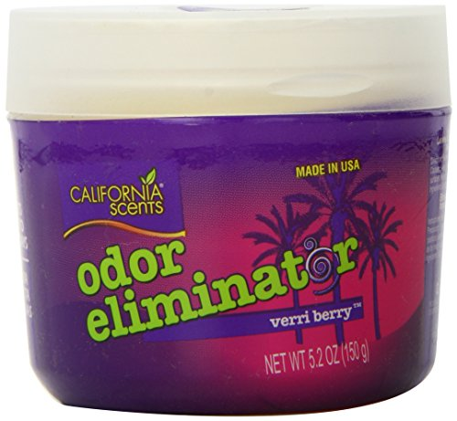 (California Scents Odor Eliminator, Verri Berry, 5.2-Ounce Jars (Pack of 12))