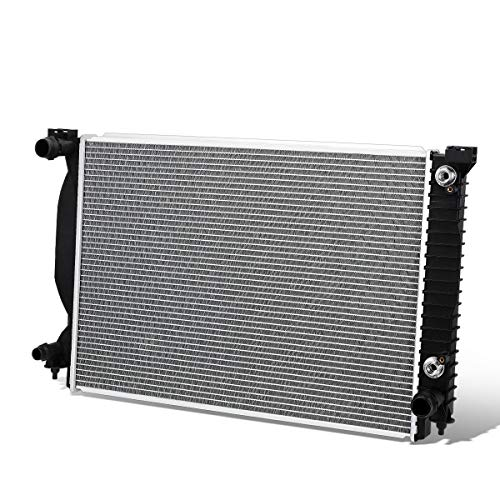 2590 Factory Style Aluminum Radiator for 02-08 Audi A4/A6 Quattro 3.0L/3.2L AT/MT Audi A4 Radiator Replacement