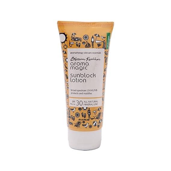 Aroma Magic Sunscreen Sun Block Cream, SPF 30, 50ml Sunscreen at amazon