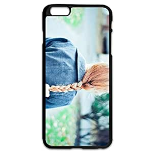 Fashion Girl Plastic Cover For IPhone 6 Plus