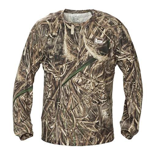 Banded Tech Stalker Mock Shirt-MAX5-Medium