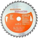 Evolution Power Tools 10BLADEWD 10-Inch Wood Cutting Blade with 1-Inch Arbor