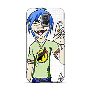 Protector Cell-phone Hard Cover For Samsung Galaxy S5 (ITd9043FmJi) Provide Private Custom Nice Gorillaz Band Skin