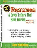 img - for Resumes & Cover Letters That Have Worked book / textbook / text book