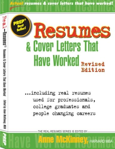 Resumes & Cover Letters That Have Worked: Anne McKinney ...
