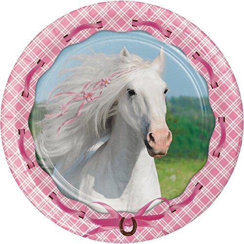 Heart My Horse Dessert Plates, 24 -