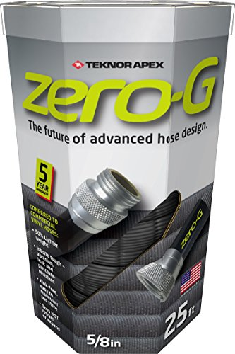 zero-G 4001-25 8 Inch by 25 Feet Lightweight, Ultra Flexible, Durable, Kink-Free Garden Hose, 5, 5/8