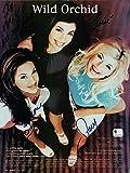 Wild Orchid Fergie Signed Magazine Photo 3X Autograph Stacy Ferguson GV452216