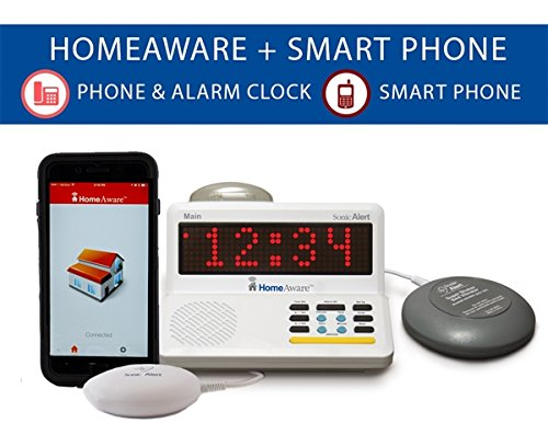 The HomeAware Smartphone Signaler -Wire line and Mobile Phone signaler with Bed Shaker