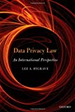 Data Privacy Law : An International Perspective, Bygrave, Lee Andrew, 0199675554