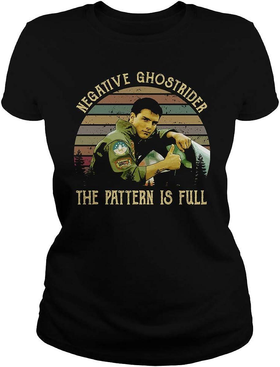 Marrola Negative Ghostrider The Pattern is Full T-Shirt