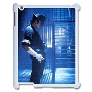I-Cu-Le Cover Custom Case Michael Jackson,customized Hard Plastic case For IPad 2,3,4