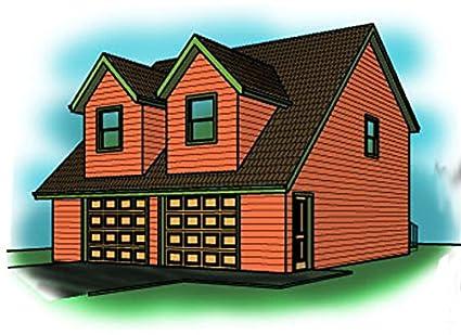 Garage Plans   30u0027 X 40u0027 , Living Space Above   Shop And Bathroom