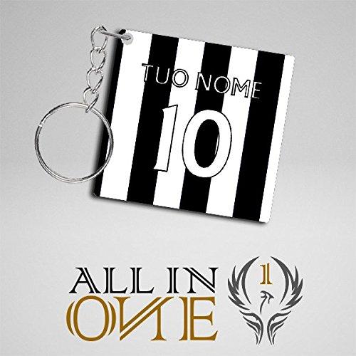 Llavero Camisetas Camiseta con il Tuo Nombre Juventus ...