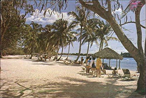 Minita Beach La Romana, Dominican Republic Original Vintage Postcard
