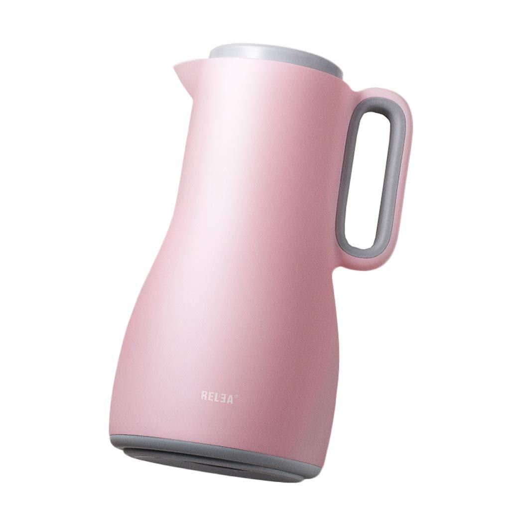 最新作 大きい容量1.5Lヨーロッパの絶縁されたやかん Pink)、国内魔法瓶の健康なガラスはさみ金 Pink (色 : : Pink) Pink B07NPL8FTF, 田上町:729d896c --- a0267596.xsph.ru
