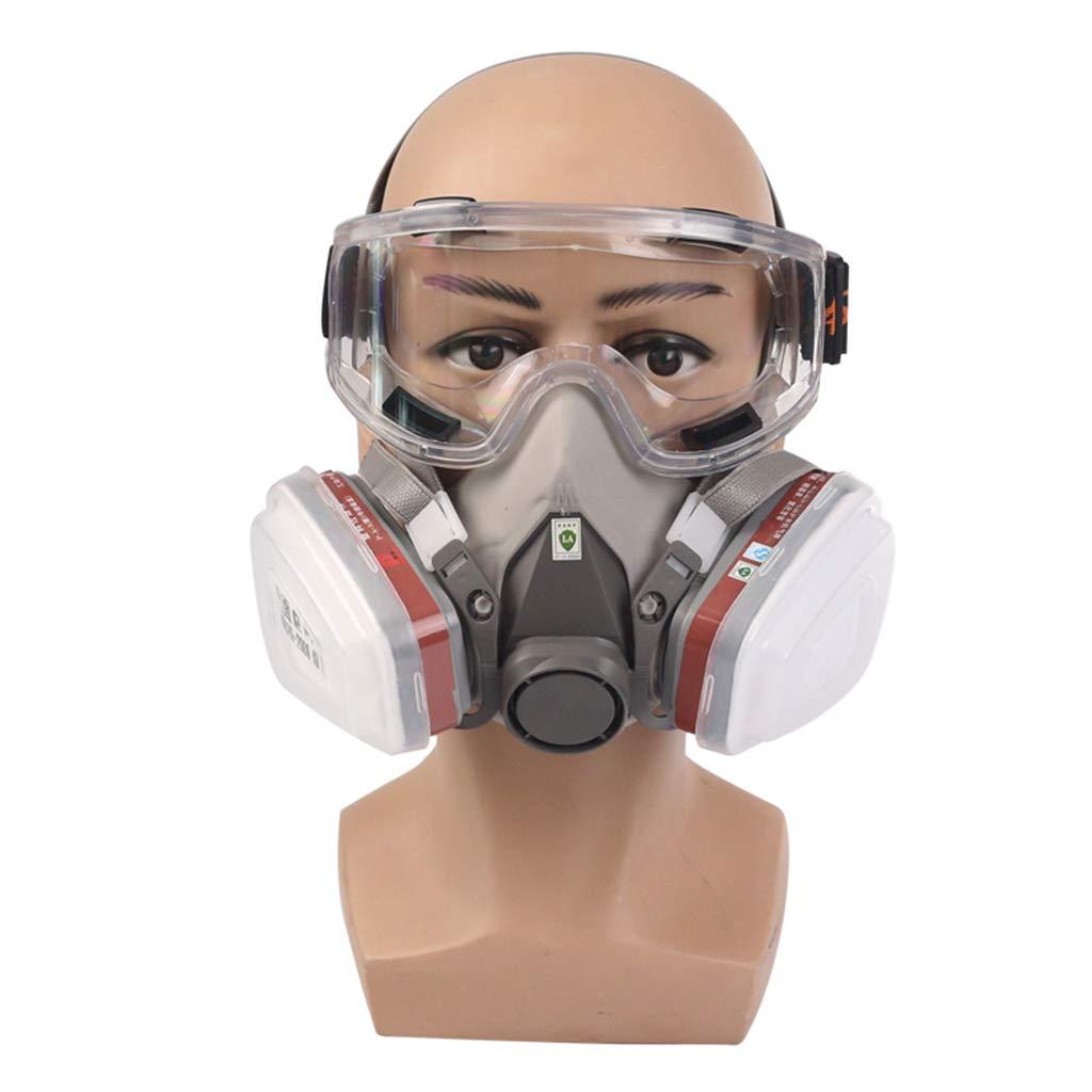 maschera antipolvere 3m 6200