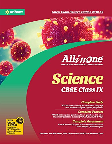 CBSE All In One Science CBSE Class 9 for 2018 - 19: Amazon