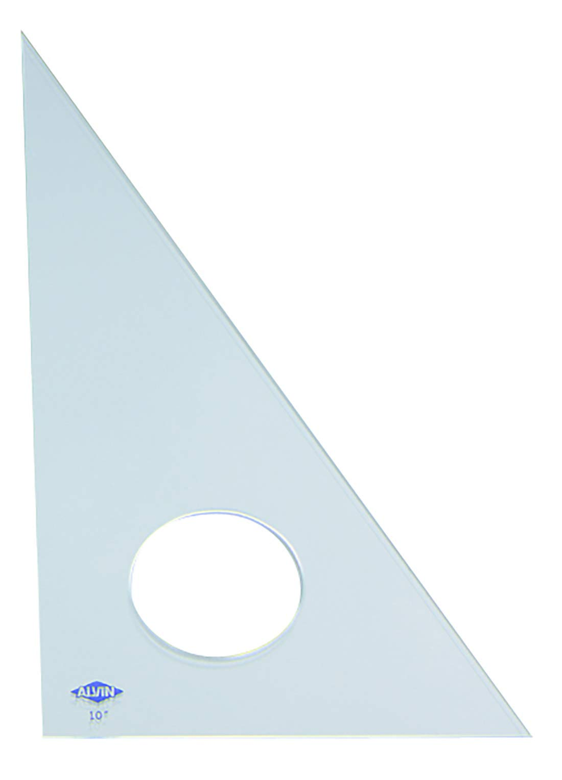 Alvin 130C-18 30-Degree/60-Degree 18'' Clear Professional Acrylic Triangle by Alvin