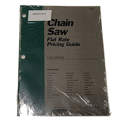Clymer Chain Saw Flat Rate Pricing Guide Intertec Publishing Corporation