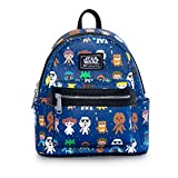 Loungefly x Star Wars Baby Character Print 11'' Mini Faux Leather Backpack