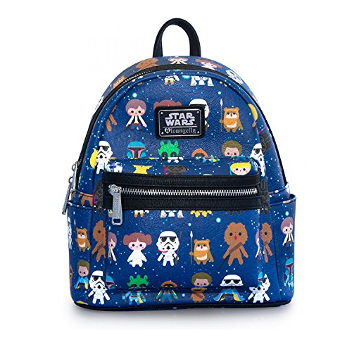 Loungefly x Star Wars Baby Character Print 11'' Mini Faux Leather Backpack by Loungefly