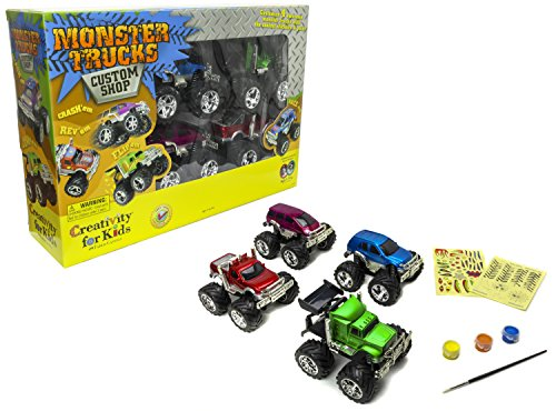 Creativity for Kids Monster Truck Custom Shop - Customize 4 Monster (Hand Roll Costume)