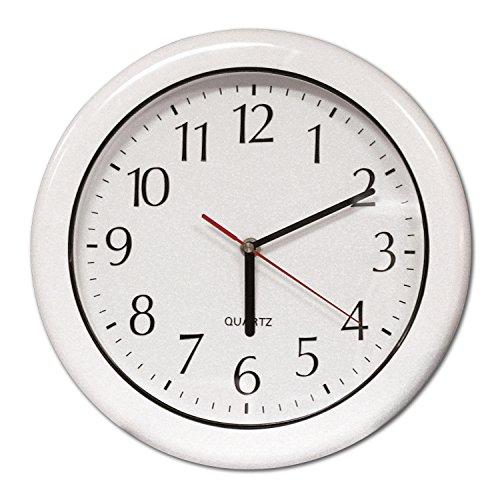 Poolmaster 52600 12-Inch Indoor or Outdoor Clock, White ()