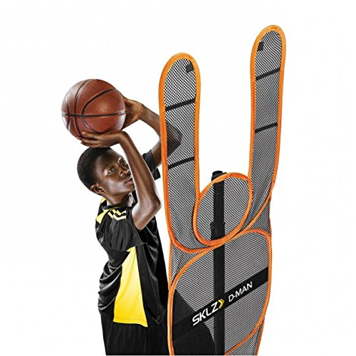 SKLZ DMBK-000-02 D-Man A Trainer Defensive Mannequin, Orange, One Size